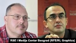 Nedim Sejdinović i Dinko Gruhonjić