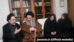محمد خاتمی در منزل حسن حبیبی