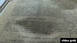 1930-ci yıllarda «yanalif» ile yazılğan qırğız metni