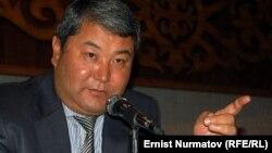 Қырғызстанның оңтүстігіндегі Ош қаласының әкімі Мелис Мырзакматов. 26 қазан 2011 жыл.
