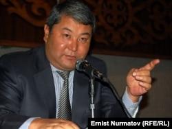 Ош қаласының мэрі Мелис Мырзакматов. 26 қазан 2011 жыл