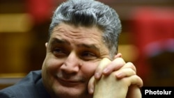 Տիգրան Սարգսյանը Ազգային ժողովում, 5-ը փետրվարի, 2014 թ․