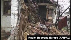 Pamje nga dëmet në Tetovë