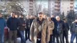 Ankara. Türkmenistanyň ilçihanasynyň öňünde protest bildirýän türk işçileri