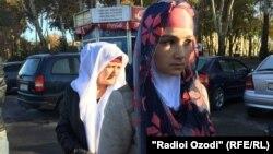 Заріна Юнусова після повернення в Душанбе, 16 листопада 2015 року
