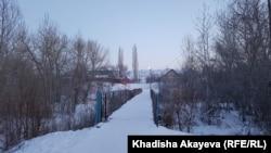 Зайсан қаласы, Шығыс Қазақстан облысы. 7 қаңтар 2020 жыл.
