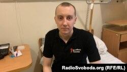 Станіслав Асєєв у лікарні після звільнення