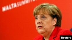 Германия канцлері Ангела Меркель. Мальта, 3 ақпан 2017 жыл.