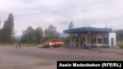 Станция в Ананьево, где произошел взрыв. 20 июня 2017 г.
