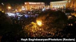 Armenian Protesters Storm Government Buildings After Cease-Fire Deal With Azerbaijan