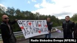Makedoniyada hökumətə qarşı etiraz aksiyası
