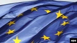 Zastava EU u Briselu, arhivska fotografija