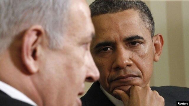 Barack Obama i Benjamin Netanjahu tokom razgovora u Bijeloj kući