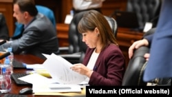 Вицепремиерката за економски прашања Мила Царовска