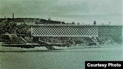Podul de la Bender (1918) (Foto: I. Țurcanu, M. Papuc, Basarabia în actul Marii Uniri de la 1918)