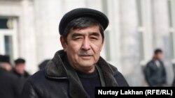 Таксист Оразбай Жақаев. Алматы, 13 ақпан 2013 жыл.