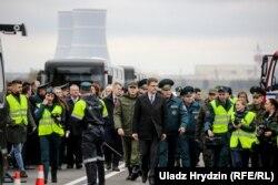Каміся на чале з намесьнікам прэм'ер-міністра Ўладзімерам Кухаравым