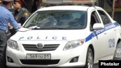 Ճանապարհային ոստիկանության աշխատակիցներ Երևանում, արխիվ