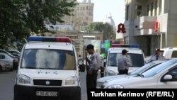 نیروهای پلیس جمهوی آذربایجان
