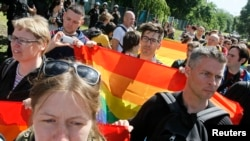 Gay-Pride March Held In Kyiv