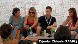Učesnici projekata Sarajevo Talent Campus i Sarajevo Grad Filma