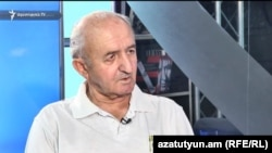 Тесть Грачья Арутюняна Виктор Мартиросян.в эфире «Азатутюн ТВ», Ереван, 24 июля 2017 г․