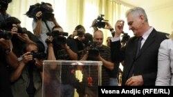 Tomislav Nikolić na izborima u Srbiji, 20. svibanj 2012.