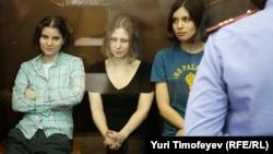 Pussy Riot перед приговором, 17 августа 2012