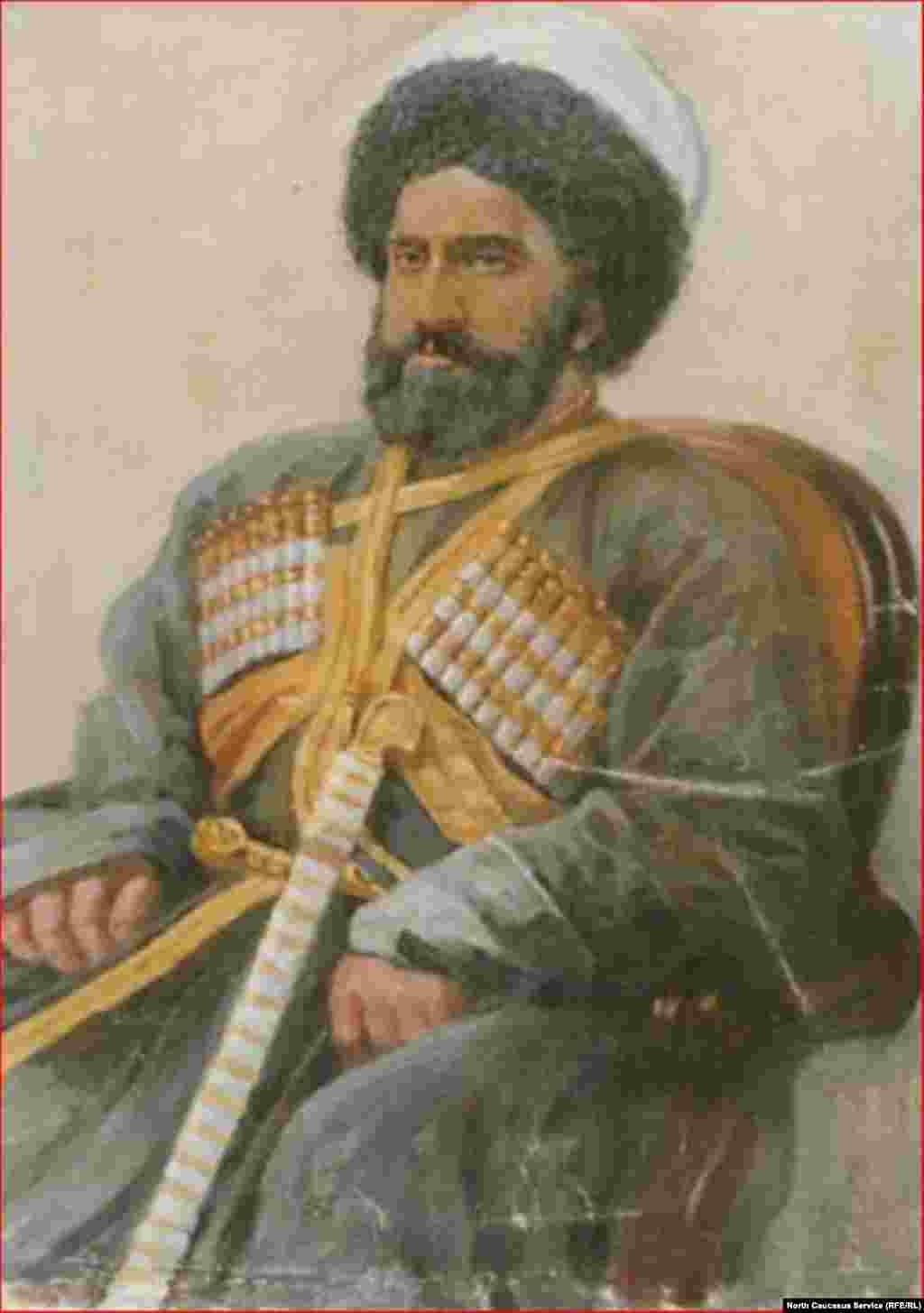 Наиб Магмет Амин-наиб Закубанский. Богатырев И.С.1920-х нач.- 1930-х гг.