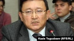 Айдар Алибаев, председатель Ассоциации накопительных пенсионных фондов. Алматы, 16 октября 2012 года.