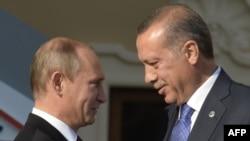 Vladimir Putin və Recep Tayyip Erdoğan-2013