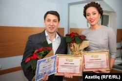 Фирдүс Тямаев һәм Гөлназ Сәфәрова