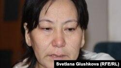 Гульзада Арыкпаева, жена Адилбека Мейрамова.