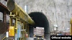 Маҳалли сохтмони туннели Ловарӣ