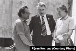 Зь Нілам Гілевічам і Васілём Быкавым