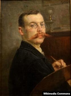 Якаў Кругер. Аўтапартрэт, 1899