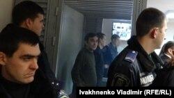 Александров и Ерофеев в суде (Киев, 7 декабря 2015 года)