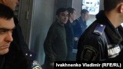 Александров и Ерофеев в суде, 7 декабря 2015 года