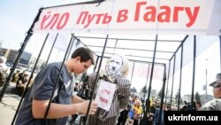 Ілюстраційне фото. Відзначення річниці провалу «російської весни» у Запоріжжі, 2015 рік