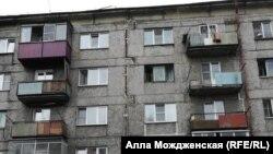 Аварийный дом в Новокузнецке