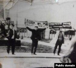 Демонстрация крымских татар в Москве 6 июня 1969 года