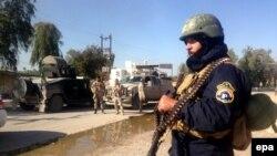 نیروهای عراقی در شمال شرق بغداد