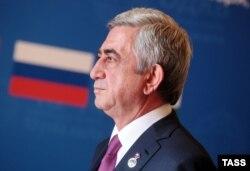 Сэрж Саргсьян — дзейны прэзыдэнт Армэніі, лідэр Рэспубліканскай партыі