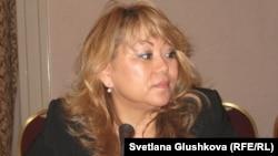 Roza Akylbekova, acting director of the Kazakh Bureau for Human Rights