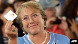Former Chilean President Michelle Bachelet (file photo)