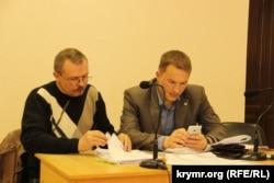 Кримський екс-депутат Василь Ганиш і його адвокат Андрій Руденко