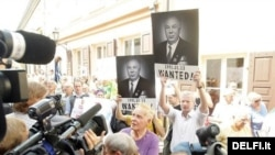 Протести во Вилнус