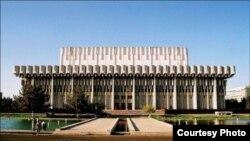 Uzbekistan - Concert Hall Istiklol in Tashkent.