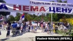 Građani Košutnjaka protestuju zbog oduzimanja igrališta