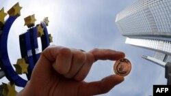 В Европейском центральном банке предполагают, что в этом году экономический рост в еврозоне почти совпадет с ростом потребительских цен